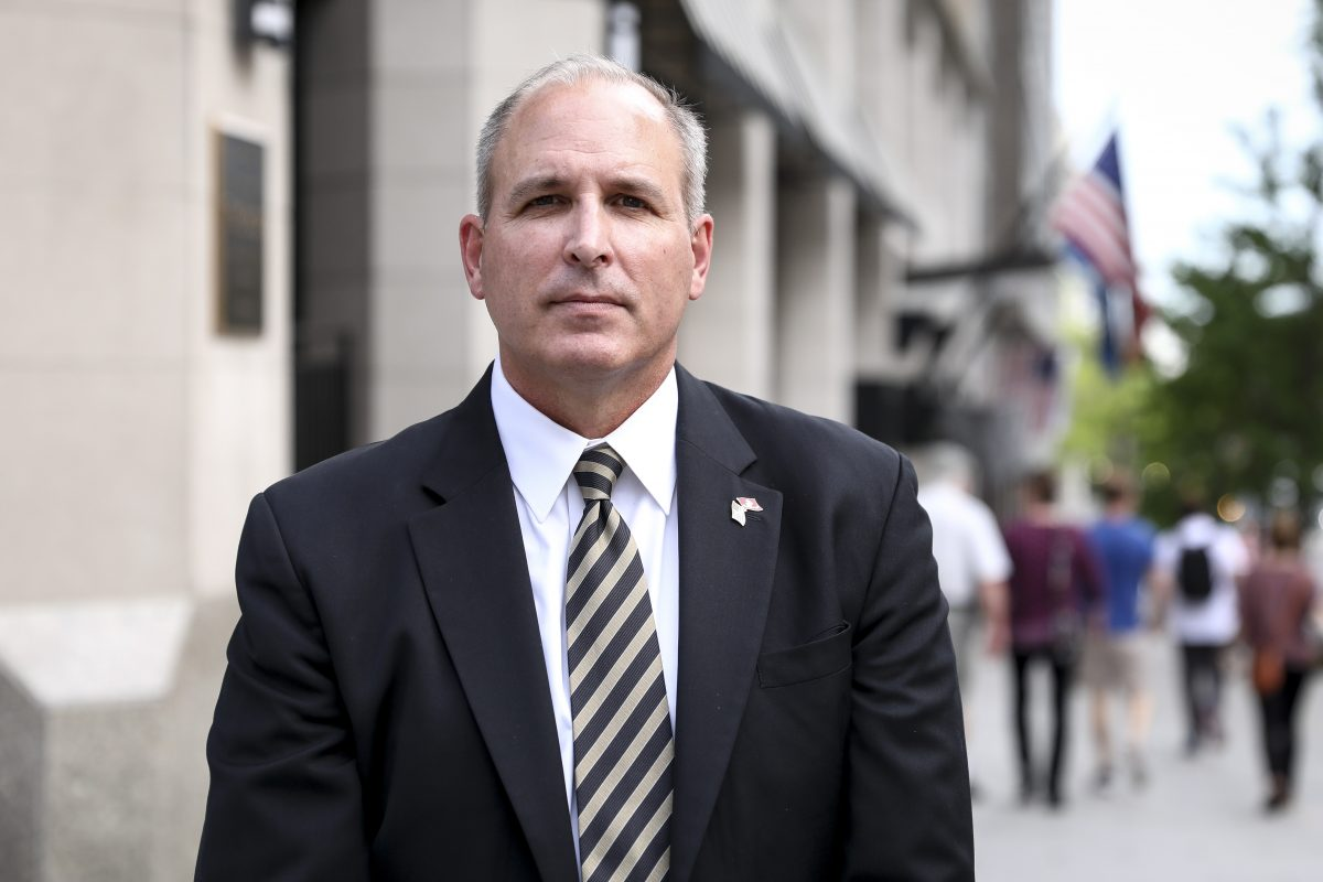 Mark Morgan, former Border Patrol chief, in Washington