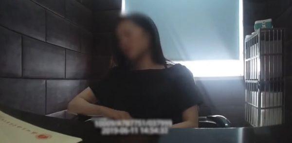 Woman drunk jail self