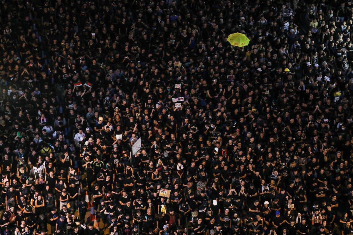 HONG KONG-CHINA protest extradition