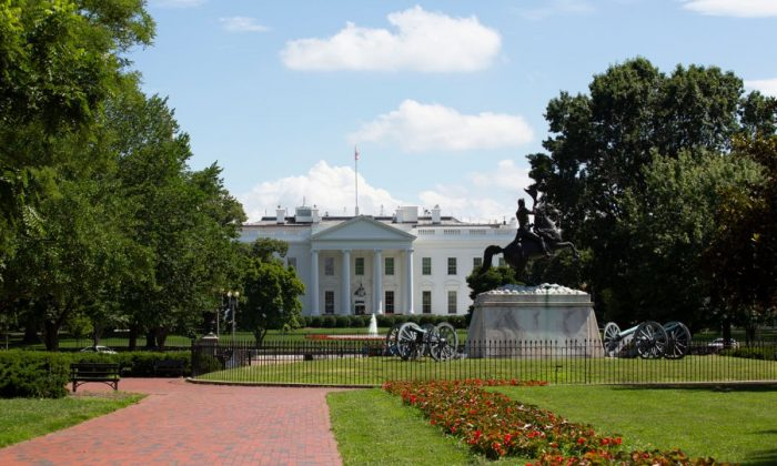 The White House and its surrounding area on June 19, 2019. (Stefani Reynolds/Getty Images)