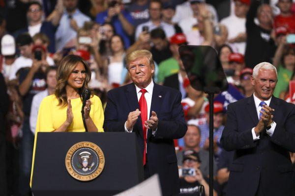 Trump, Melania and Pence