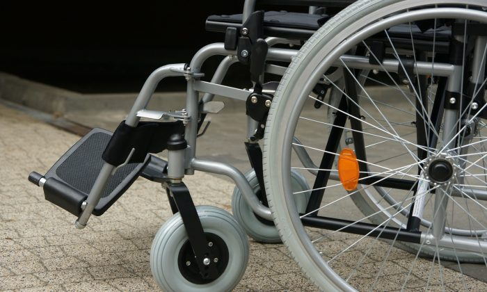 A stock photo of a wheelchair. (Beatrice BB/Pixabay)