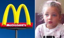Girl Flees McDonalds's Bathroom Crying, Then Mom Sees Something on Her Leg