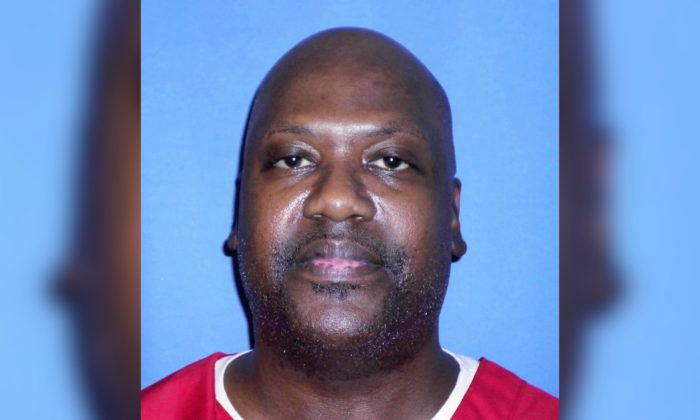 Curtis Flowers, who's murder case has gone to trial six times. (Mississippi Department of Corrections via AP)