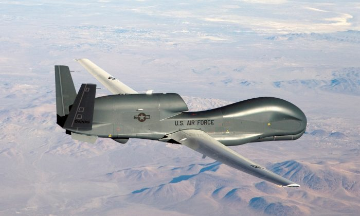 A RQ-4 Global Hawk unmanned (drone) aircraft. (U.S. Air Force/Bobbi Zapka/Handout/Files via Reuters)