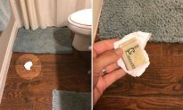 Mom Hides $5 Under a Piece of Trash to Test Husband and Kids. Guess Who Picks It Up?