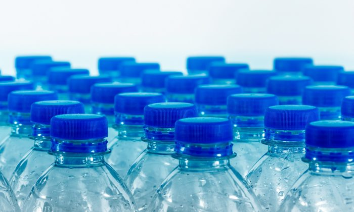 A file image shows plastic water bottles. (Pixabay)