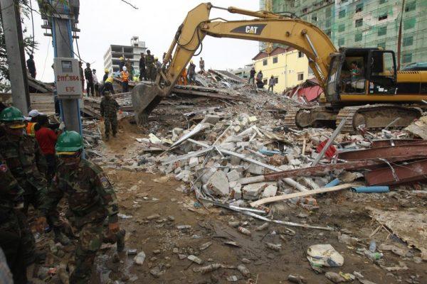 Building collapse Cambodia 2