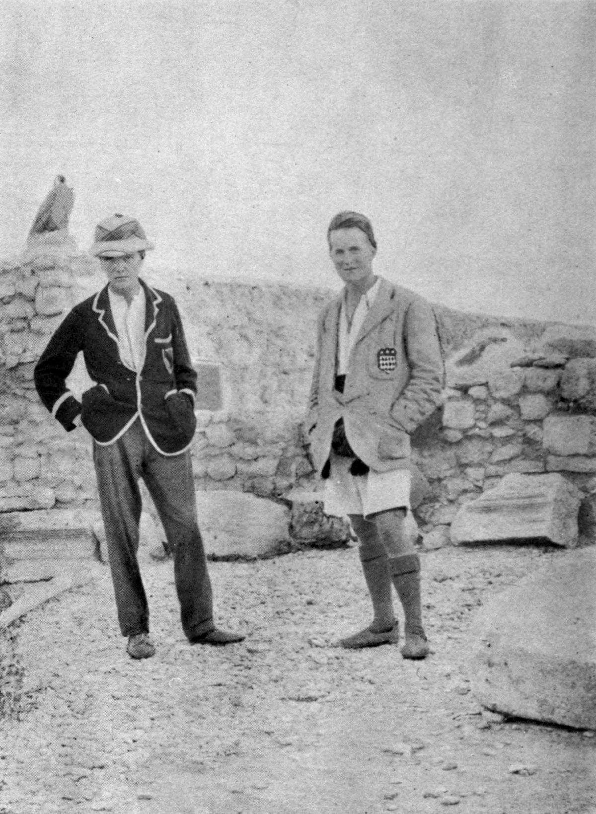 Woolley_&_Lawrence_at_Carchemish