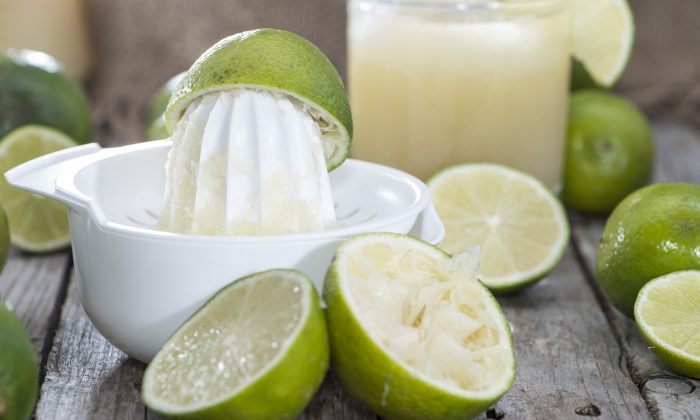 File photo of limes. (HandmadePictures/Shutterstock)