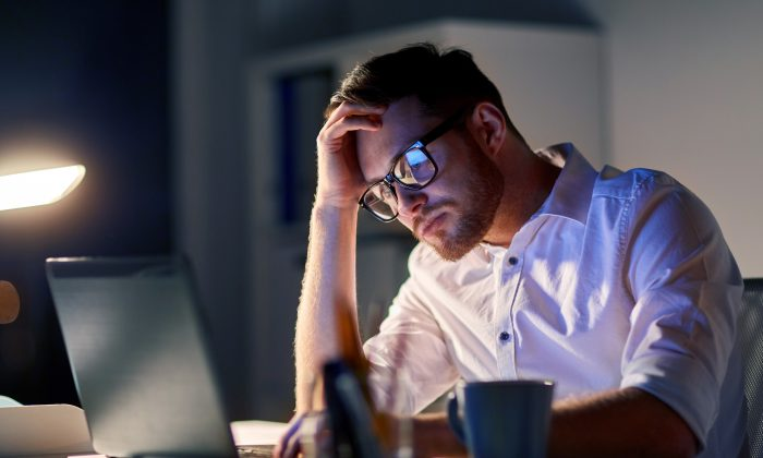 There is an hours-worked threshold where productivity declines and health problems increase. (Syda Productions/Shutterstock)