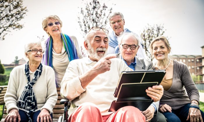 For many older Americans, the fact that they can get out and socialize with friends is a defining element of good health.(oneinchpunch/Shutterstock)