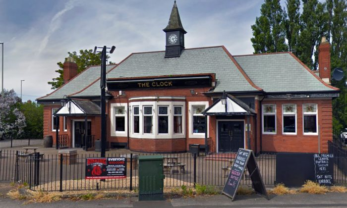 Exterior of The Clock Hotel in Hebburn, United Kingdom, in May 2018. (Screenshot/Google Maps)