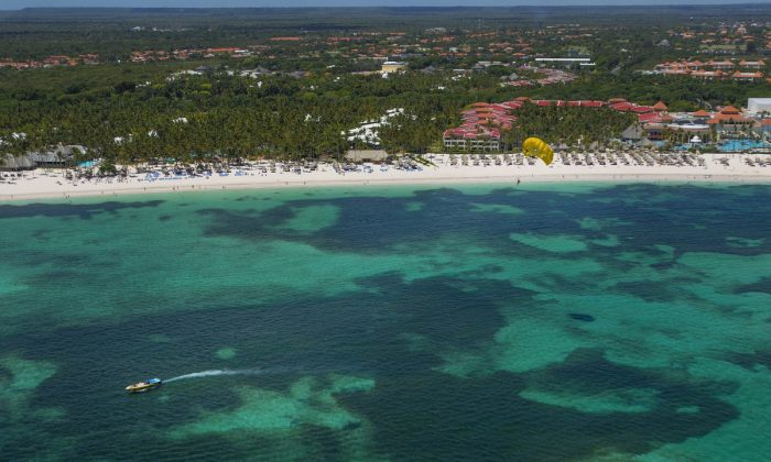 An aerial view of Punta Cana, Dominican Republic. (Erika Santelices/AFP/Getty Image)