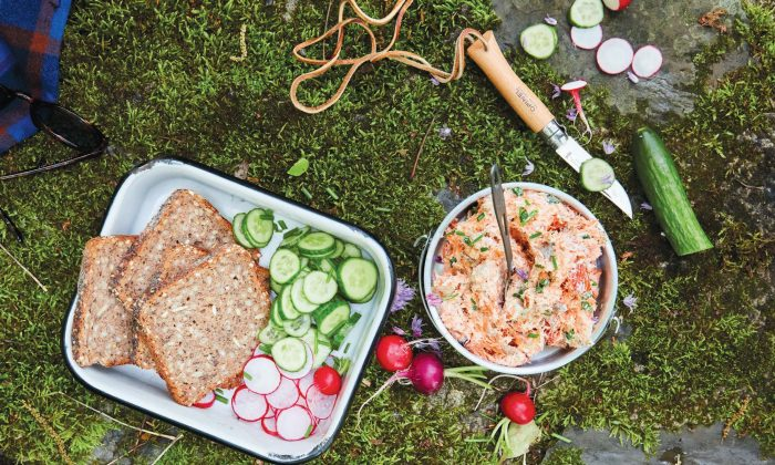 Smoked salmon spread. (Christina Holmes)