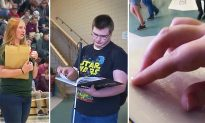 Blind High School Student Gets Specially Made Braille Yearbook From Caring Classmates