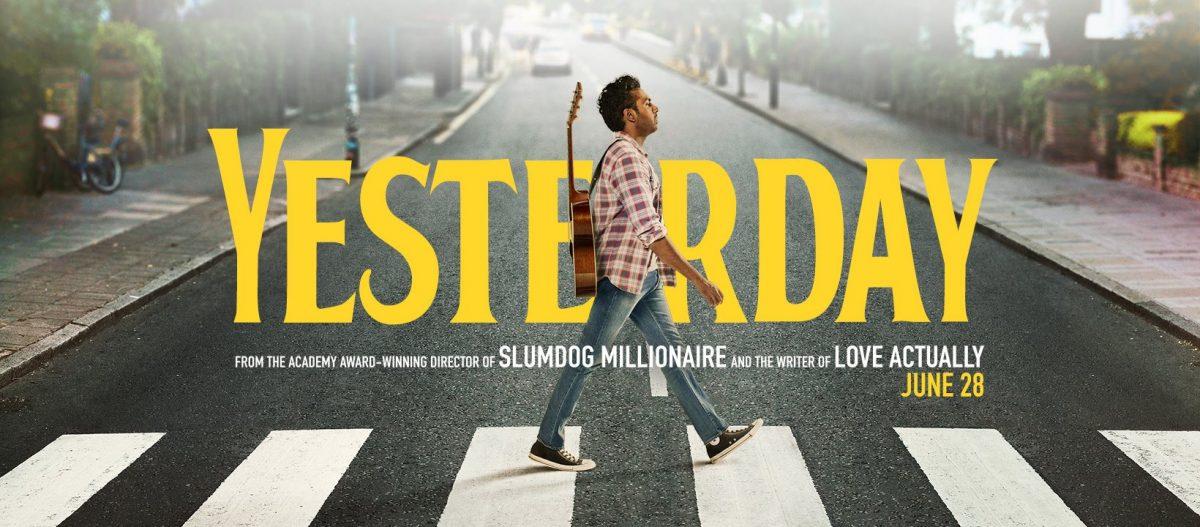 Himesh Patel walks across Abbey Road