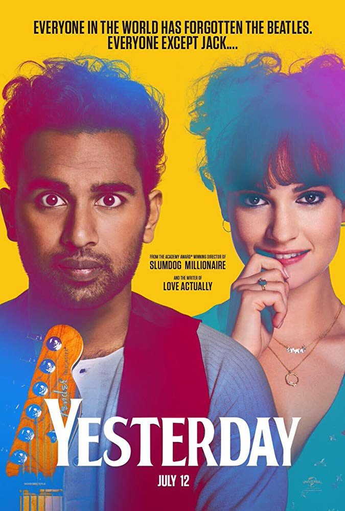 """poster of """"Yesterday"""""""