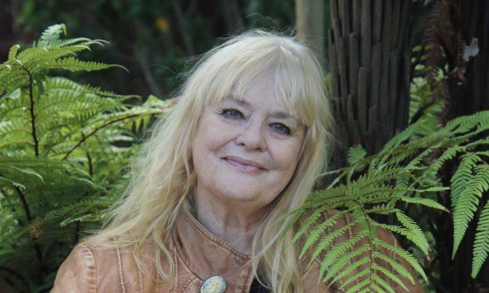 Children's book illustrator and oral storyteller Lyn Kriegler, on April 25, 2019. (Lorraine Ferrier/The Epoch Times)