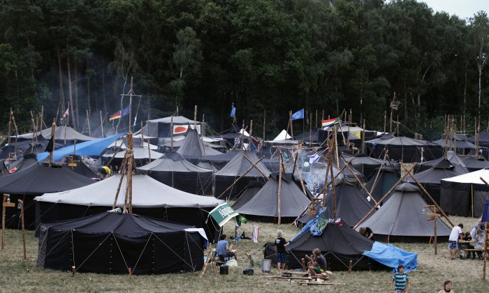 Tents at a scout camp in a file image. (Andreas Rentz/Getty Images)