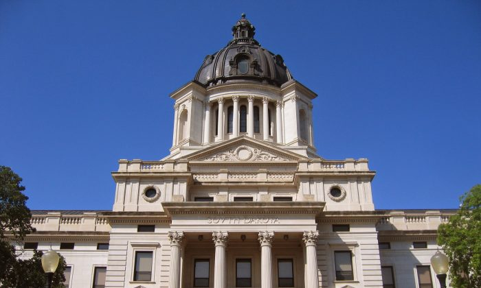 The South Dakota State Capitol in Pierre S.D., on June 29, 2007. (Runner1928/CC BY-SA 4.0)