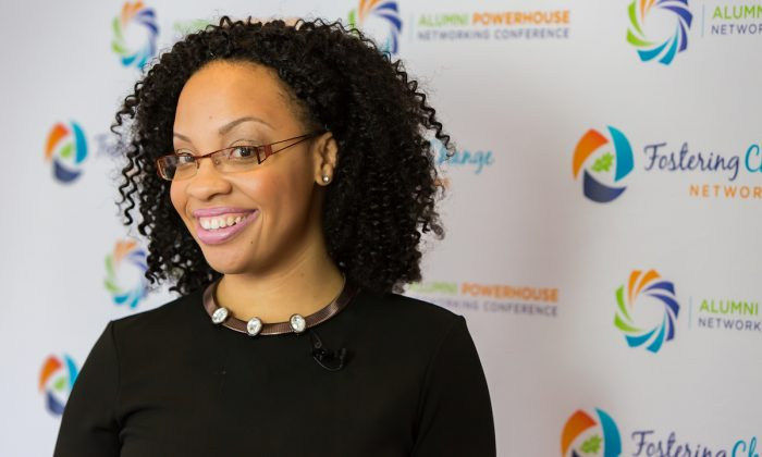 Shalita O'Neale is the founder and CEO of Fostering Change Network. (Courtesy of Shalita O'Neale)
