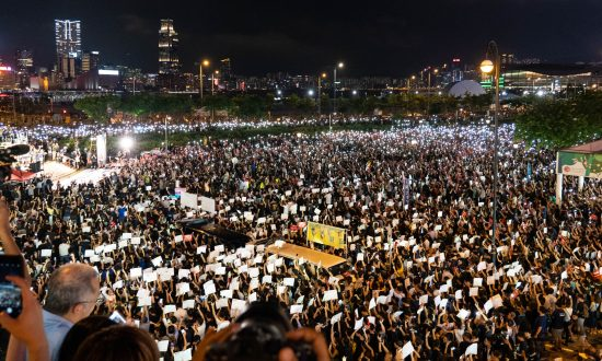 Hongkongers Say Movement Not Yet Over, at G-20 Rally Calling for Withdrawal of Extradition Bill