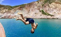 Leaping Into the Blue: A Family Trip Through the Greek Islands