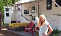 Family of 6 Lives in This RV, Then Mom Opens the Door to Show the Unbelievable