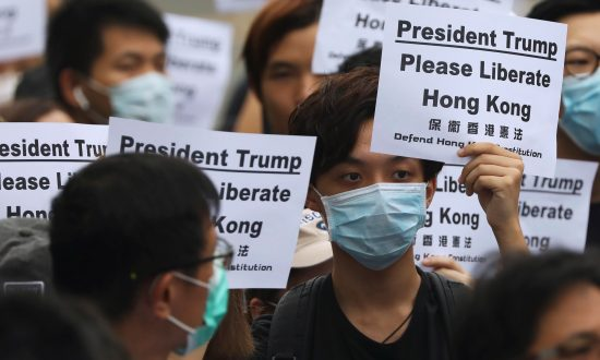 Hong Kong Activists Call on G-20 Leaders to Help 'Liberate' City