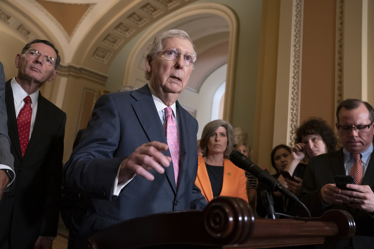 McConnell Confirms Impeachment Trial: 'Senators Won't Be Allowed to Speak'