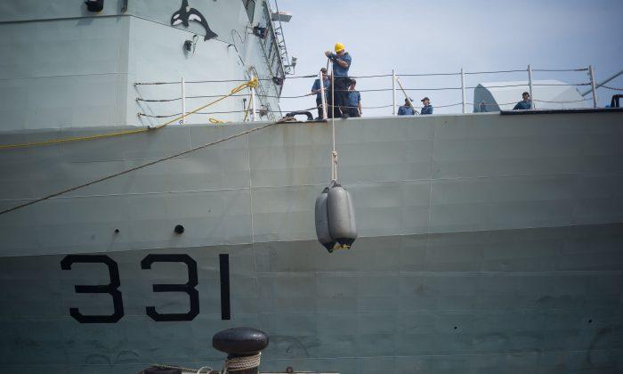 Canadian Navy Ships Sailed Through Taiwan Strait Amid