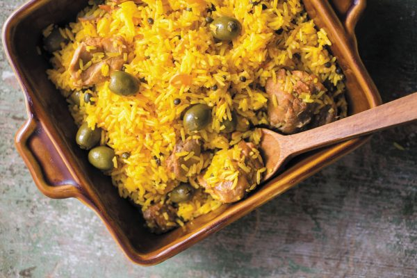 panamanian chicken and rice