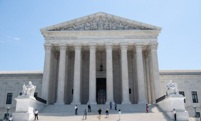 The US Supreme Court is seen in Washington on June 24, 2019. (Saul Loeb/AFP/Getty Images)