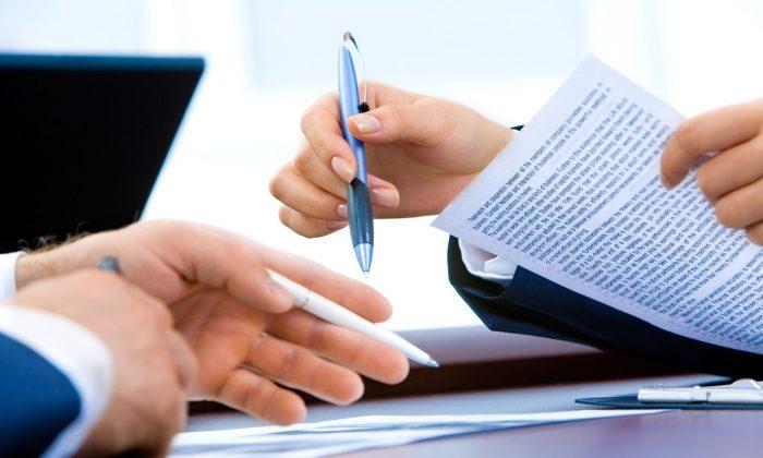 Stock photo of documents. (Public Domain)