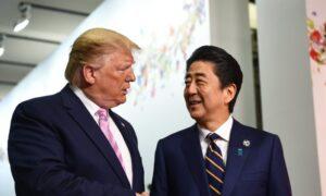 Trump Meets Japan's Abe at the G-20 Summit