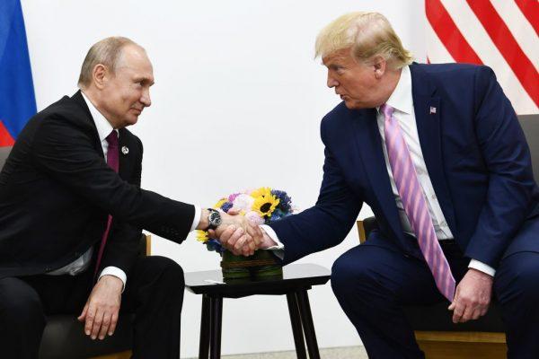 Trump and Putin G-20