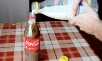 Ever Tried Mixing Milk With Coke? The Result Might Change What You Drink Every Day