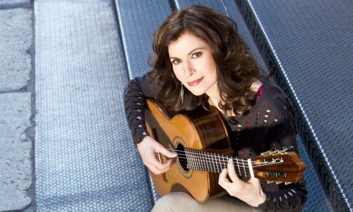 Classical guitarist Sharon Isbin.  (J. Henry Fair)