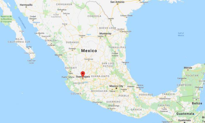 Screenshot of Guadalajara, Mexico.(Google Map)