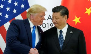 Trump Says Talked WithChina's Xi on Trade Deal, Hong Kong, North Korea