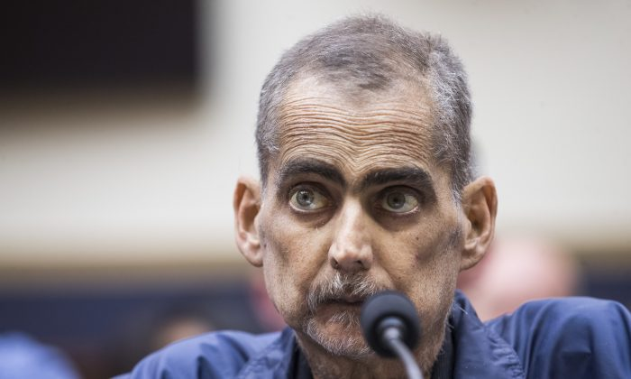Retired New York Police Department detective and 9/11 responder Luis Alvarez testifies during a House Judiciary Committee hearing on reauthorization of the September 11th Victim Compensation Fund on Capitol Hill on June 11, 2019, in Washington, DC. (Zach Gibson/Getty Images)