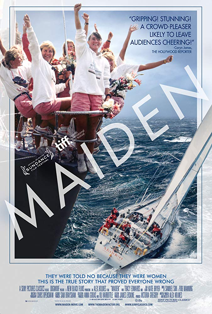 poster for female boat crew