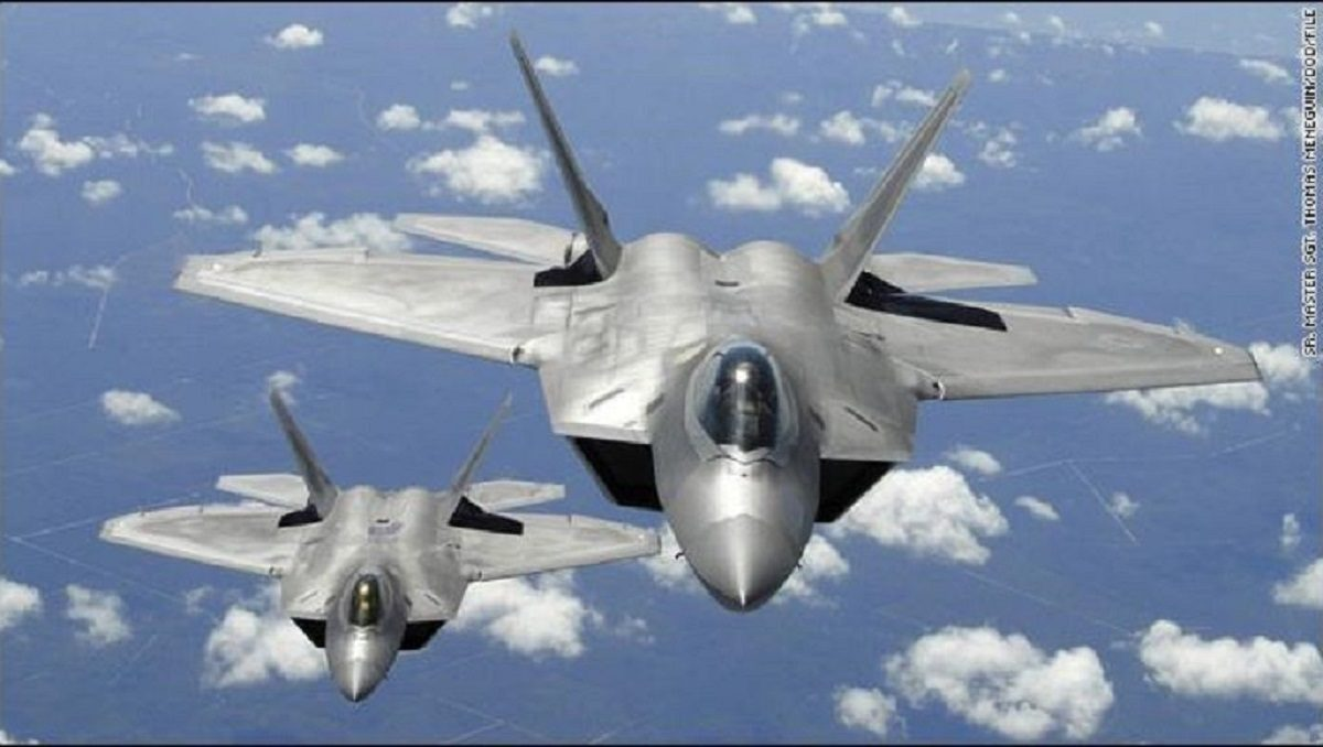 US Air Force to Launch Operation Pacific Iron 2021 in July, Including a Large Fleet of F-22 Raptors