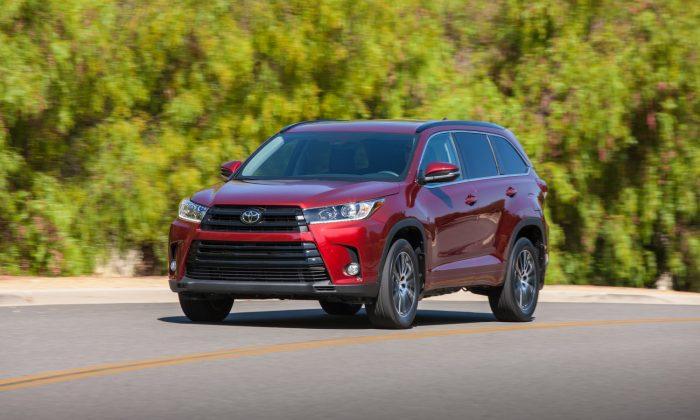 2019 Toyota Highlander. (Courtesy of Toyota)