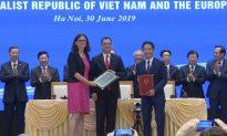 Vietnam, European Union Sign Free Trade Agreement