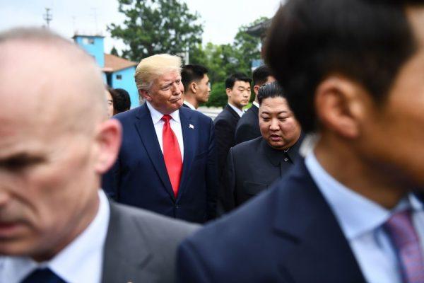 Trump and Xi DMZ