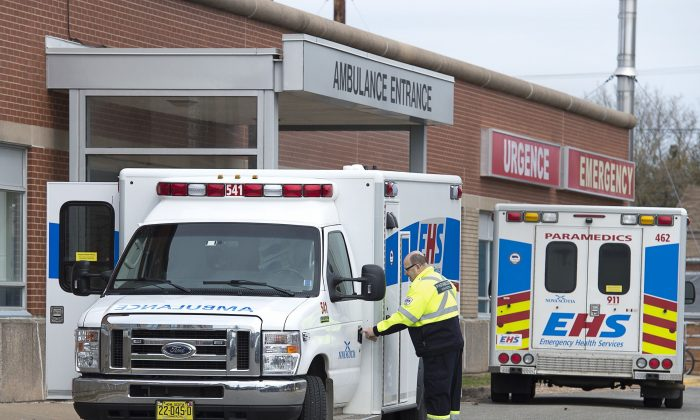 The Valley Regional Hospital in Kentville, N.S., April 30, 2019. Doctors at the facility have started a crowdfunding campaign to raise money to pay for more hospital beds. (The Canadian Press/Andrew Vaughan)