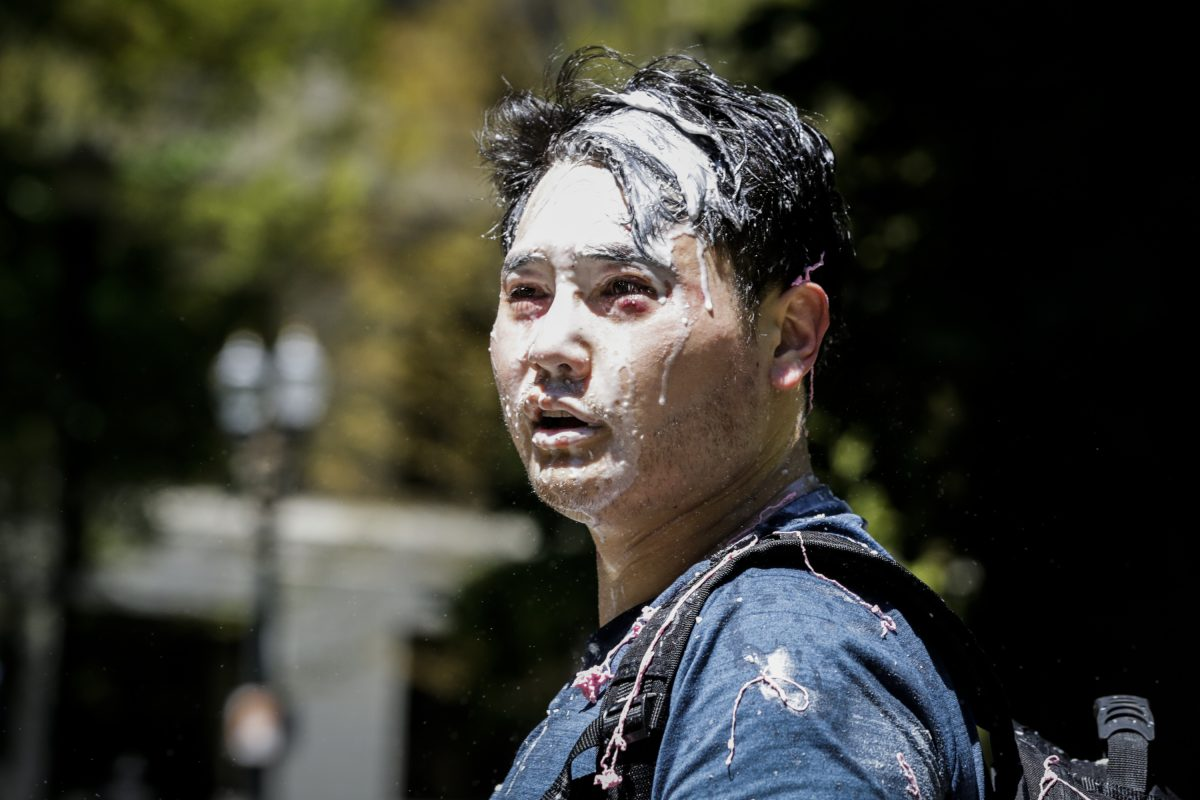 Andy Ngo attacked