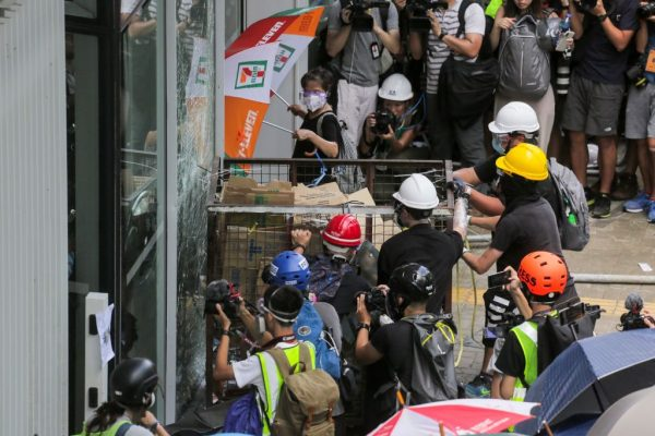 Rogue protesters HK